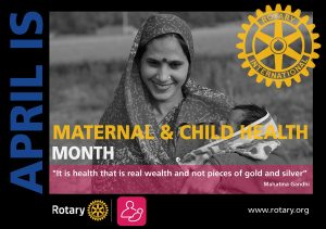 Maternal and Child Health Month