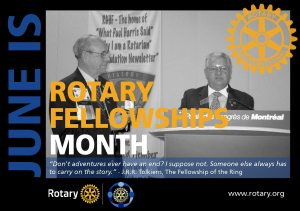 Rotary Fellowships Month