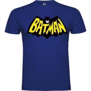 Camiseta Bat man Azul