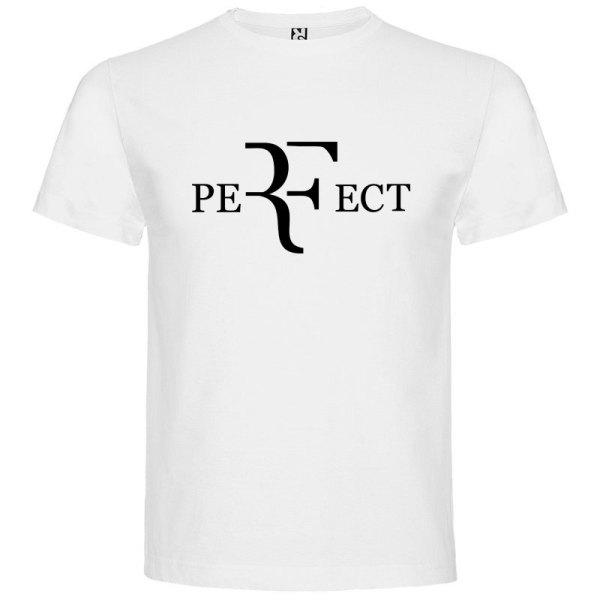 Camiseta para hombre perfect en color blanco