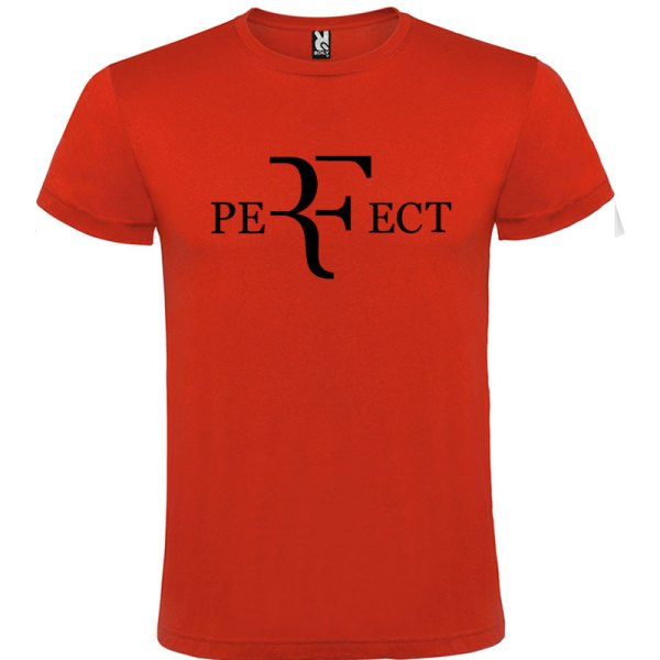 Camiseta para hombre perfect en color rojo