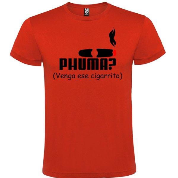 Camiseta para hombre PHUMA en color rojo