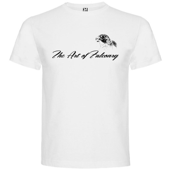 Camiseta Hombre The Art of Falconry Falcon en color blanco