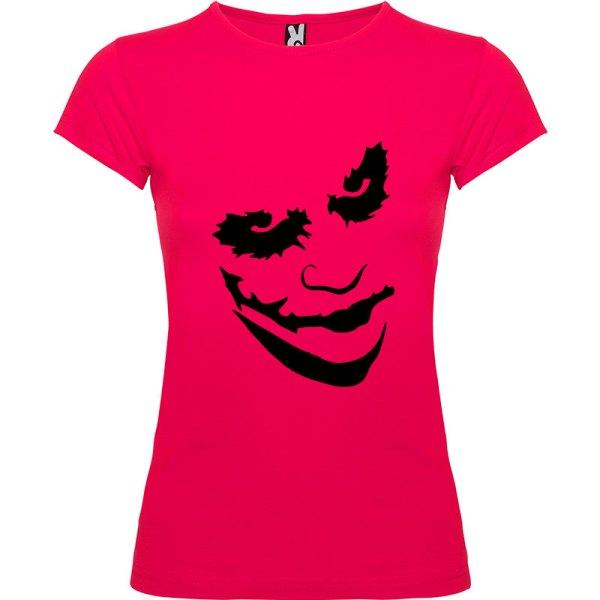Camiseta manga corta para mujer Joker en Color Roseton