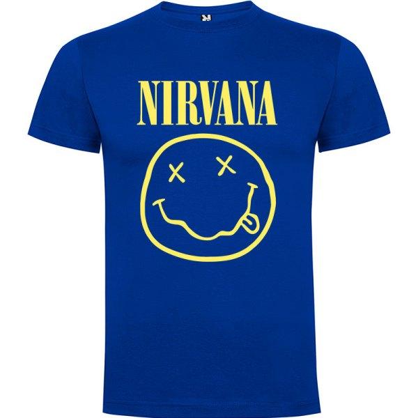 Camiseta El Nirvana para hombre en color azul royal