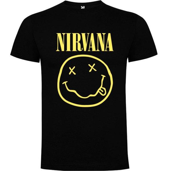 Camiseta El Nirvana para hombre en color negro