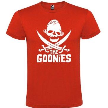 Camiseta para hombre the Goonies en rojo logo sloth