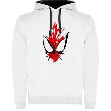 Camiseta para hombre spider en color blanco