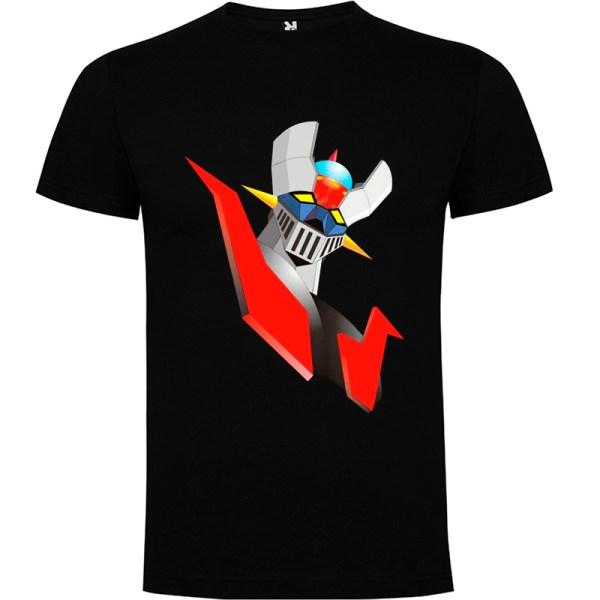 Camiseta para hombre Mazinger Z color Negro