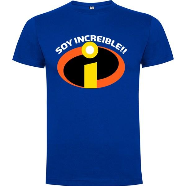 Camiseta para hombre Soy Increible en color Amarillo