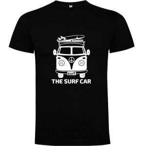 Camiseta The Surf Car para hombre Negro