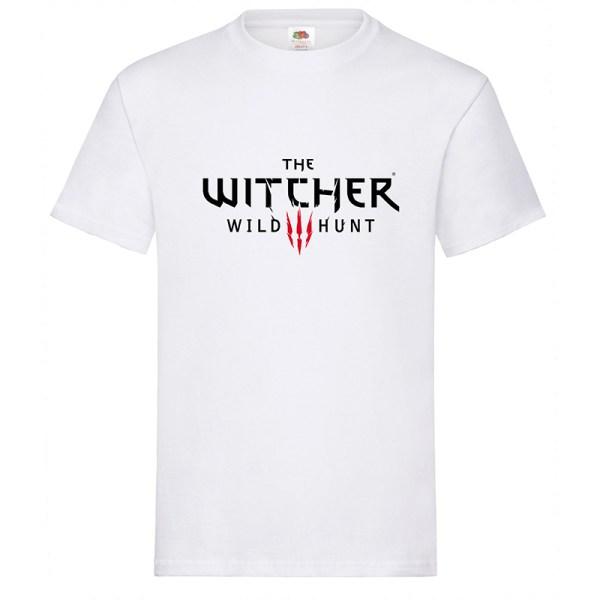 Camiseta The Witcher Wild Hunt – camiseta en color blanco y 5 tallas S – M – L – XL – XXL.
