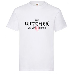 Camiseta The Witcher Wild Hunt – camiseta en color blanco y 5 tallas S – M – L – XL – XXL.