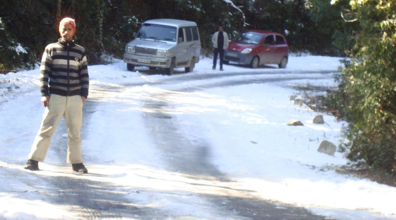 snowfall in chopta