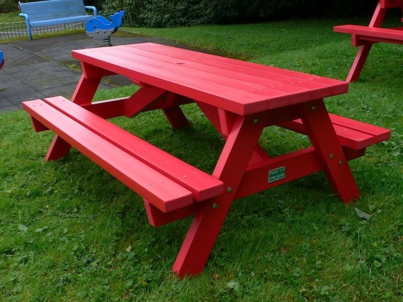 Outdoor Plastic Bench