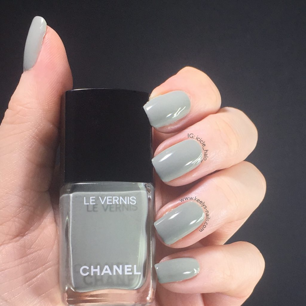 Chanel Fall Winter 2017 Horizon Line Swatched By Keely S Nails