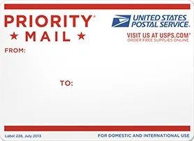 USPS priority mail envelope