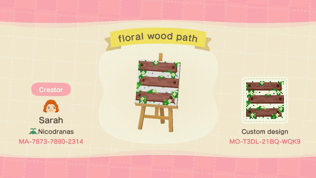 Top 10 Designs for Landscaping in Animal Crossing: New ... on Animal Crossing New Horizons Wood Design  id=40640