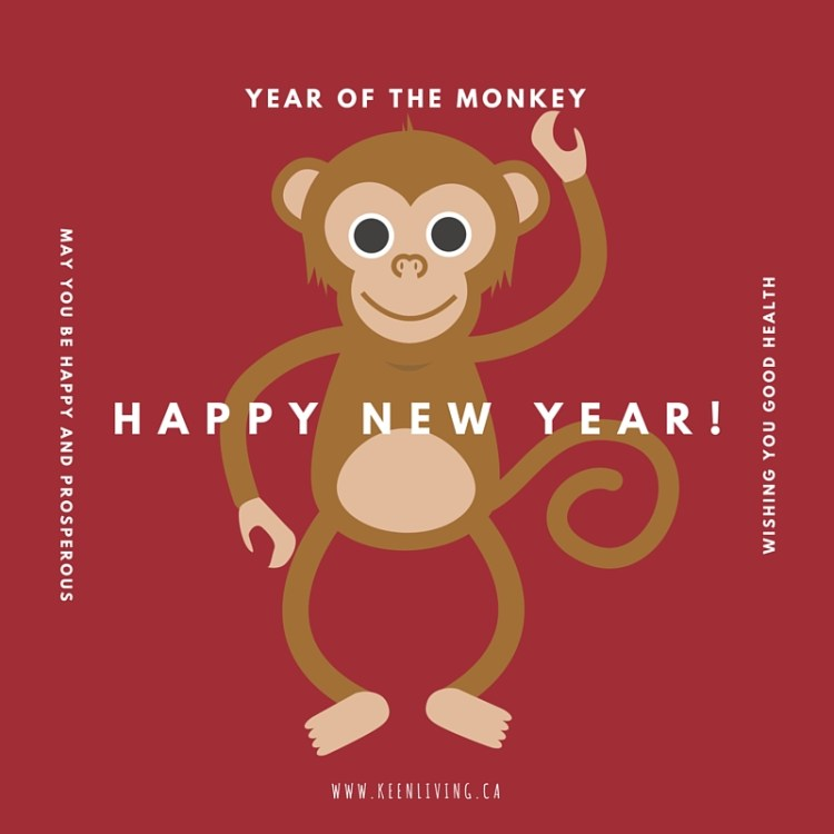 Happy Chinese New Year - Year of the Monkey