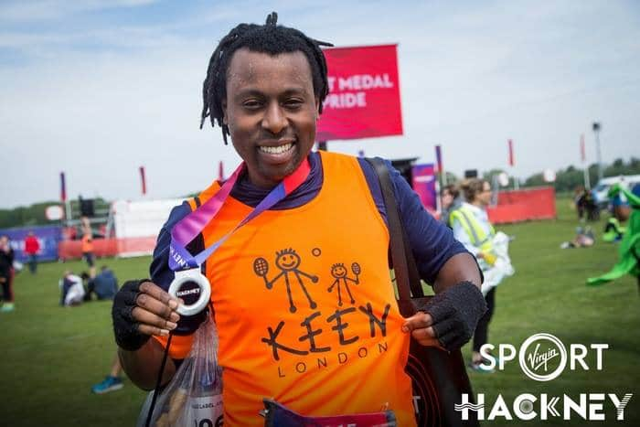 2017 Hackney half-marathon