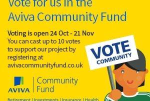 Aviva Community Fund Awards — vote now