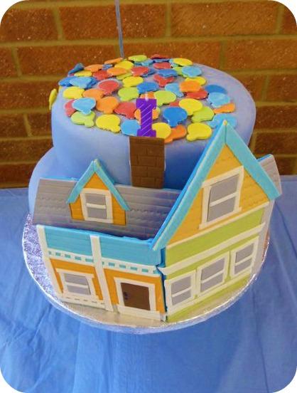 Disney Pixar Up Birthday Cake Jensen Is One Keep Up