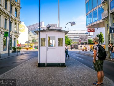 Checkpoint Charlie Berlin Germany 1