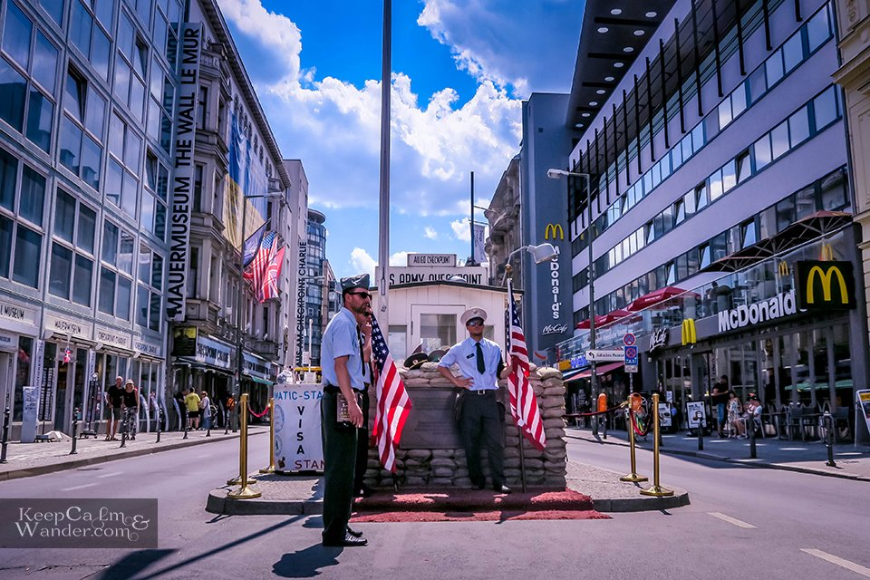 Checkpoint Charlie in Berlin - Icon of the Cold War Germany