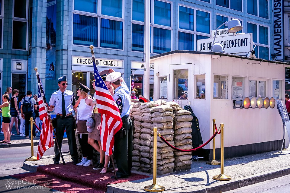 Checkpoint Charlie in Berlin Germany Things to do
