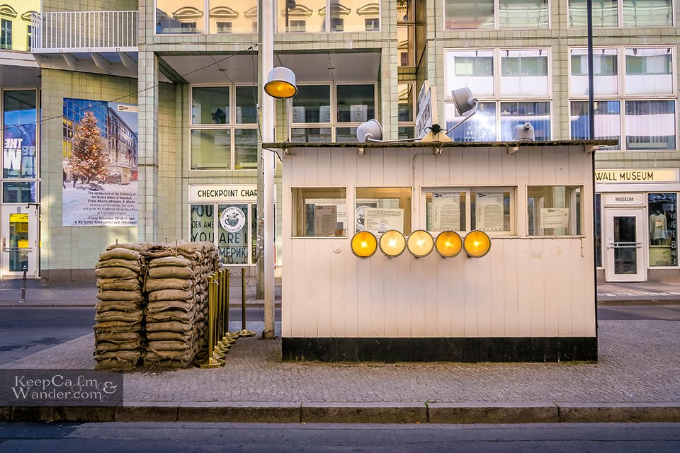 Checkpoint Charlie in Berlin Germany