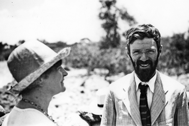 Frieda and DH Lawrence