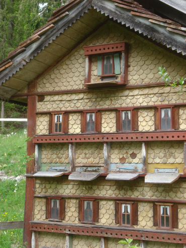 Scandinavian Bee Boxes Protection From The Cold Keeping