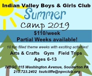 Indian Valley Boys And Girls Club Summer Camp 2019