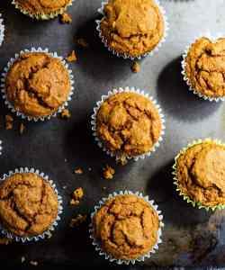 Vegan Pumpkin Muffins   Oil-Free