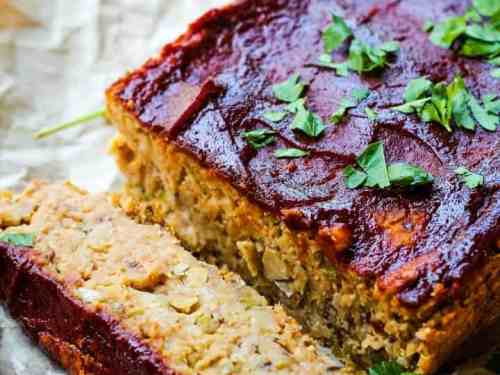 The Best Traditional Meatless Meatloaf: Vegan, Gluten-Free, and Oil-Free