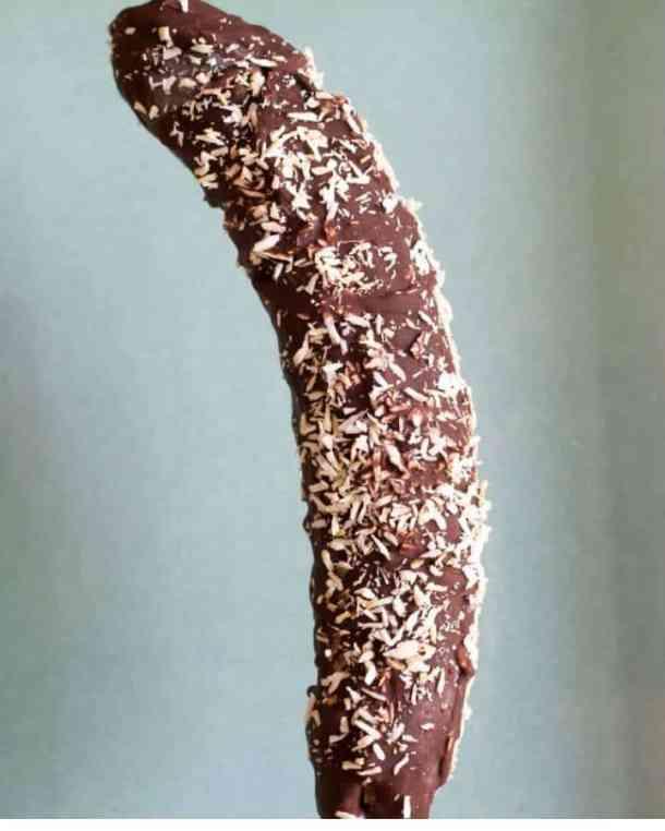 chocolate frozen banana