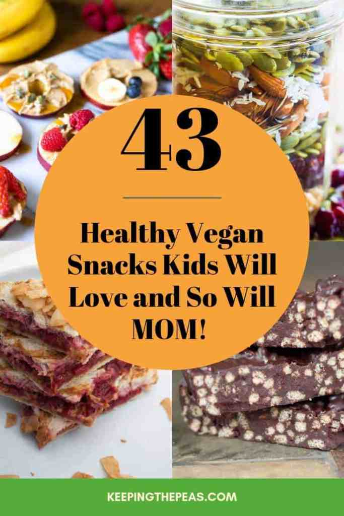 vegan snacks for kids