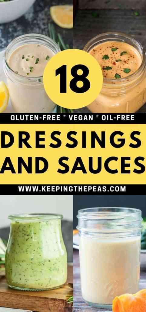 gluten free oil free dressing pin