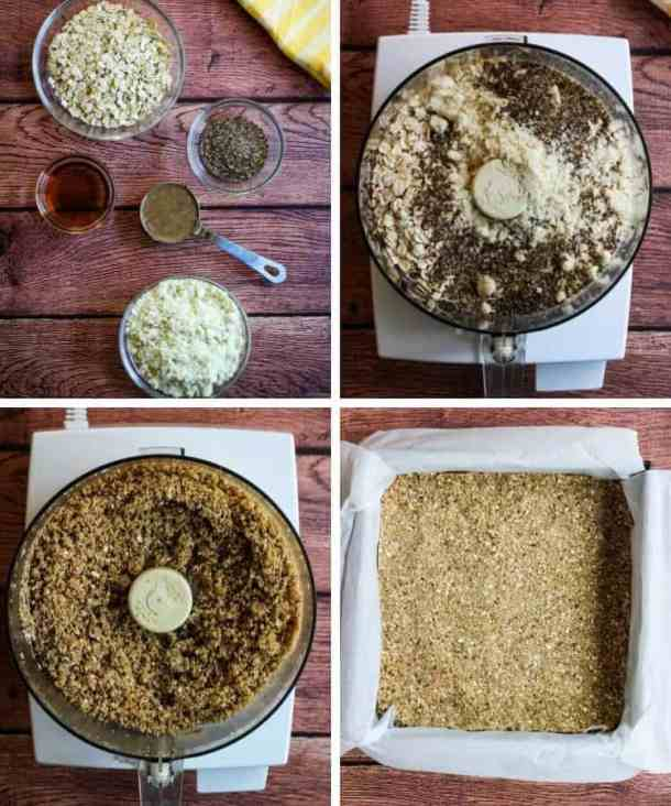 vegan gluten-free pie crust ingredients in food processor step by step instructions