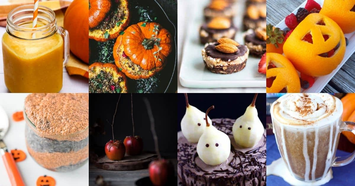 12 Spooktacularly Healthy Vegan Halloween Recipes