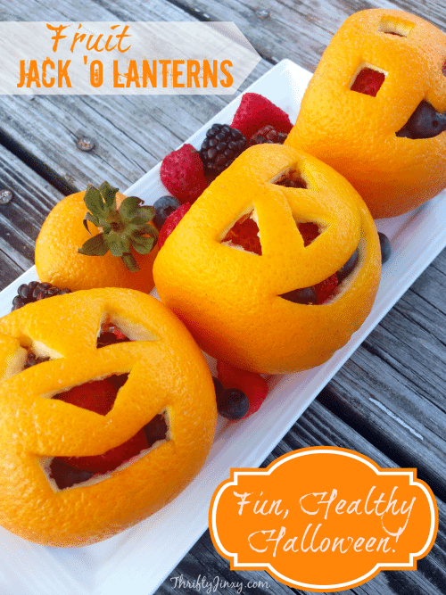 fruit jack o lanterns
