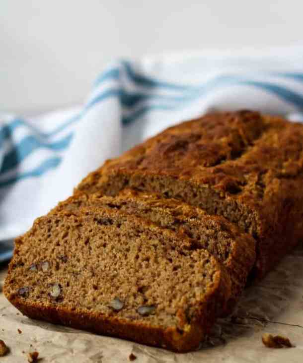 dairy free banana bread loaf