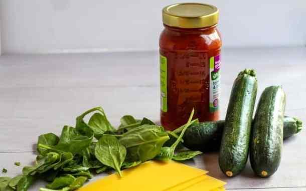 gluten free vegan lasagna ingredients