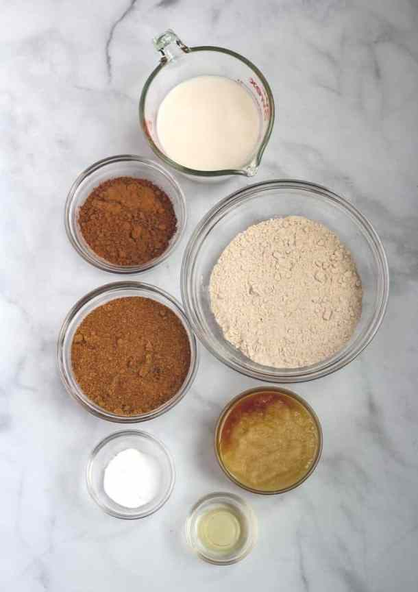 chocolate vegan cupcakes ingredients