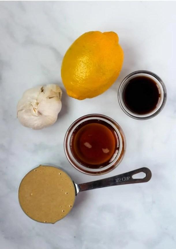 vegan tahini dressing ingredients