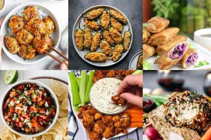 easy vegan appetizers