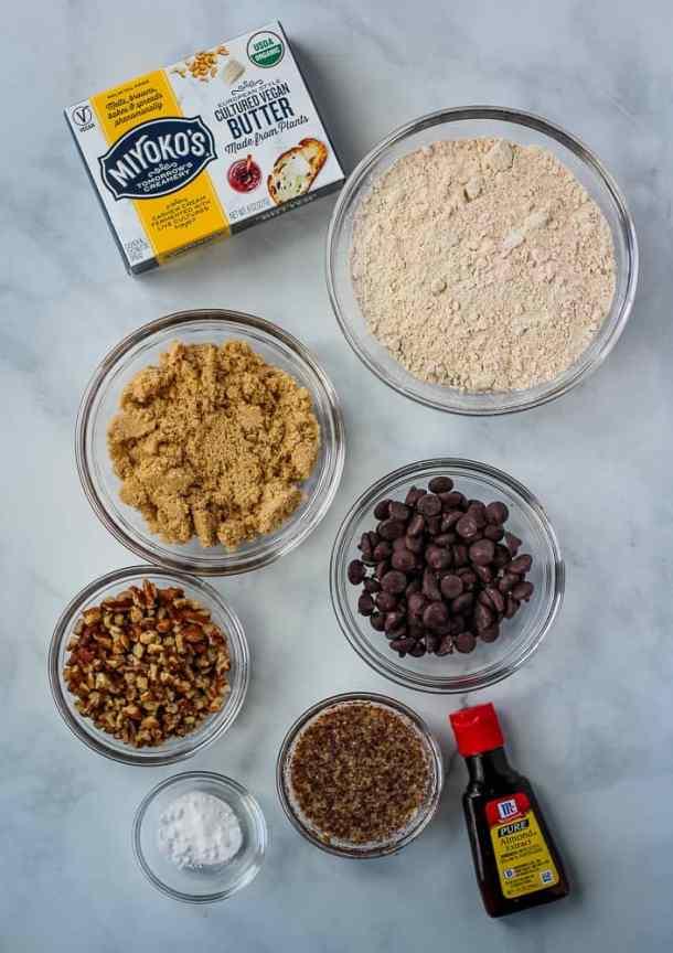 dairy free chocolate chip cookie ingredients