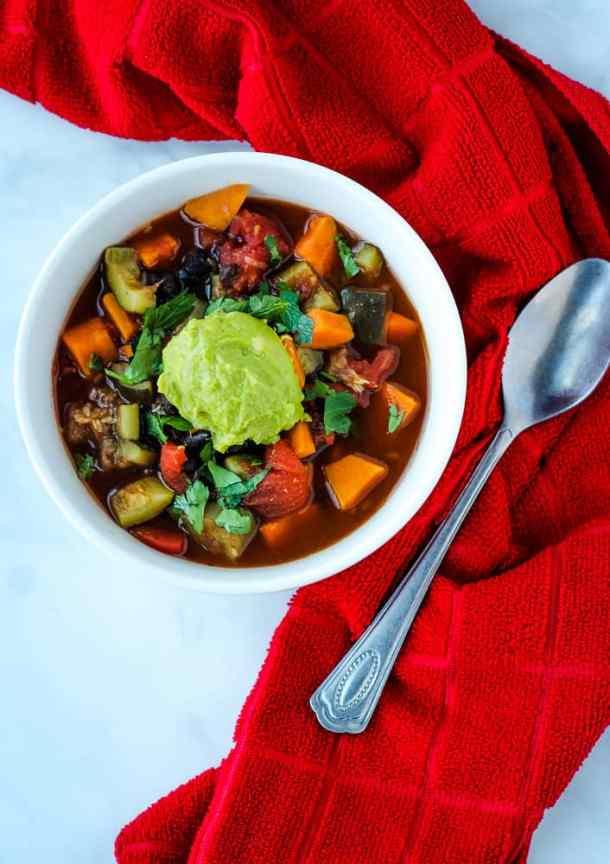 instant pot sweet potato chili