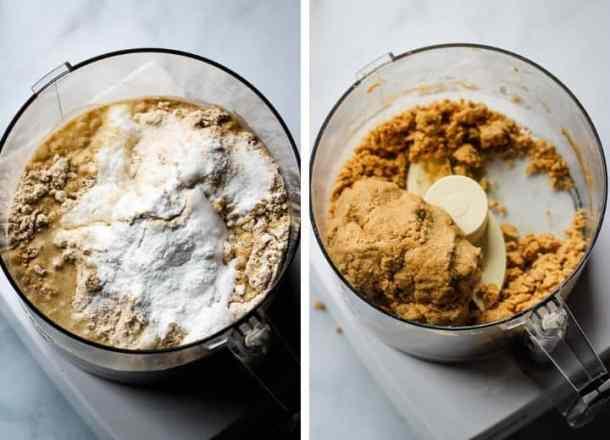 no yeast flatbread ingredients in food processor