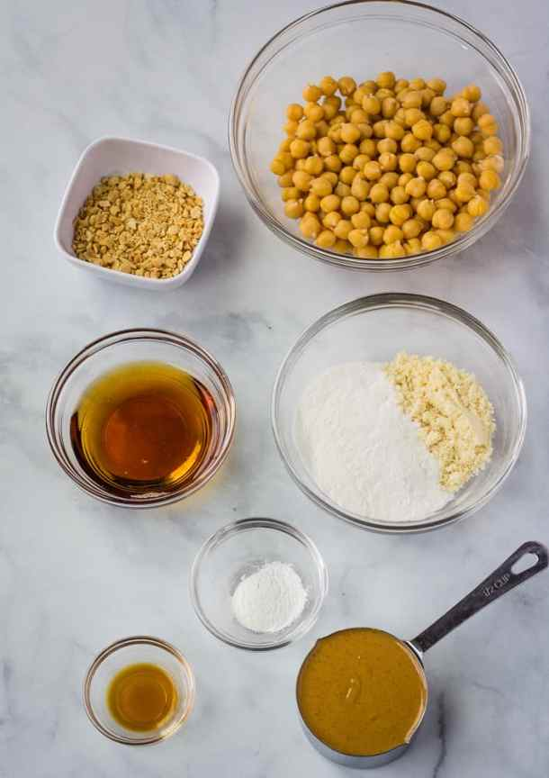 chickpea cookie ingredients